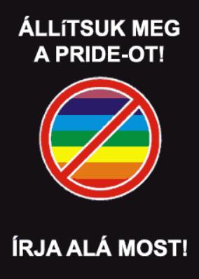 anti-pride petíció